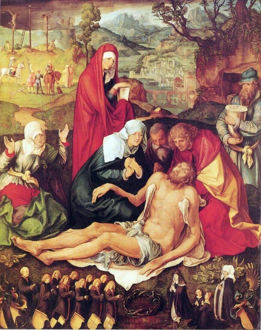 Lamentation of Christ [1] - Durer